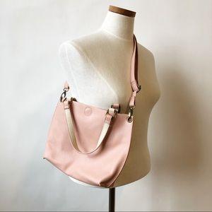 G. H. BASS & CO. Mini Crossbody Satchel Bag Pink